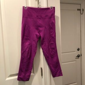 Lululemon leggings capri 3/4 length 10